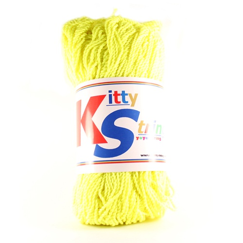 Kitty String Fat - Neon Sárga