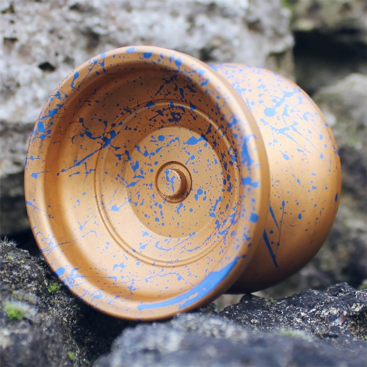 Yoyofficer Urban - Arany / Kék splash