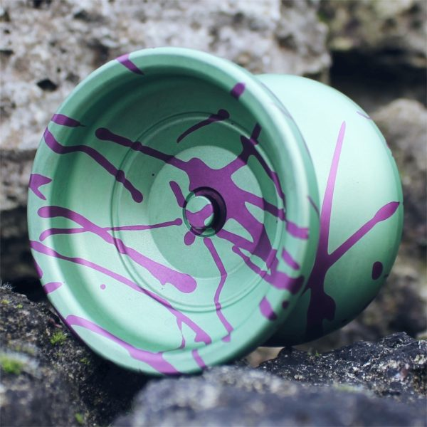 Yoyofficer Urban - Zöld / Lila splash