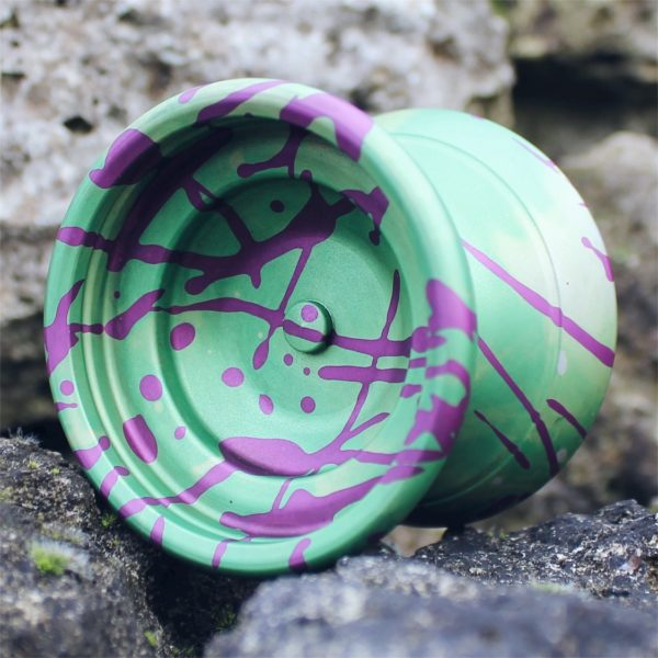 Yoyofficer Vector - Zöld / Lila splash
